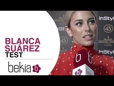 Test Blanca Suárez: