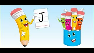 Capital Letter J for Nursery Class