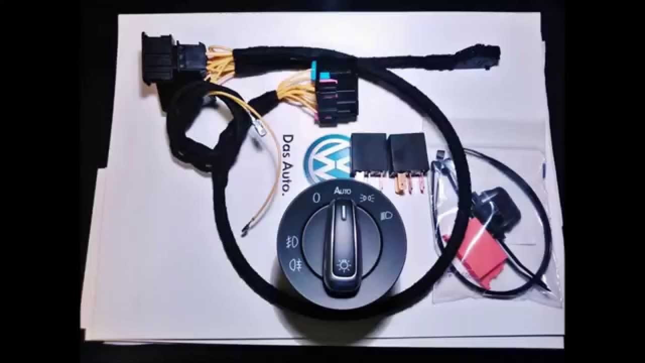 Polo 6r  Making Of Wiring Automatic Lights  Oem