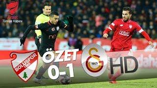 Boluspor - Galatasaray Maç Özeti