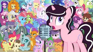 MLP Character Impressions! (32 Pony Voices, Only One Magpie)