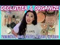 ORGANIZE & DECLUTTERING: Foundations, Blushes, Bronzers, Primers & Powders. | Jordan Byers
