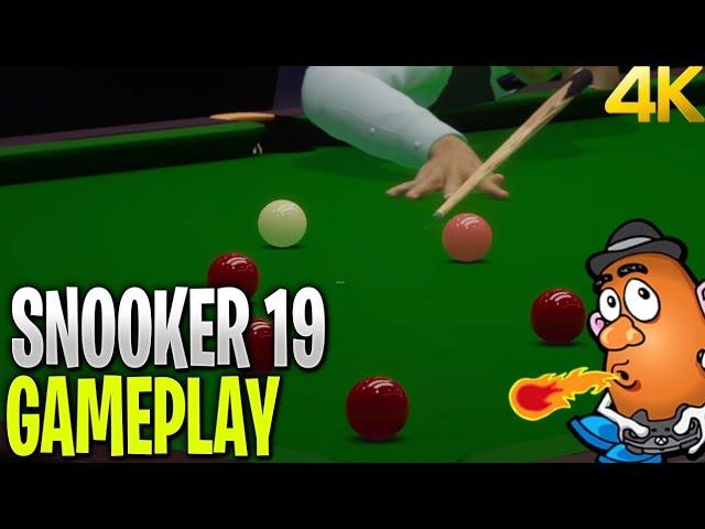 Snooker 19 Verus Higlights Gameplay   Snooker 19   Xbox One X 4K Gameplay