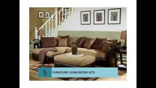 Glamorous Living Room Furniture Sets