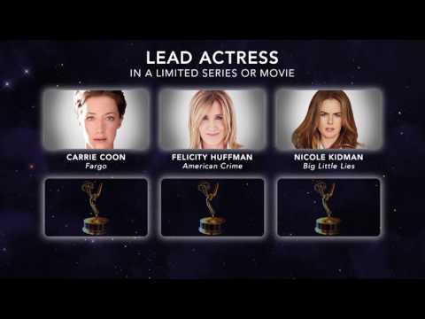 69th Emmy Nominations: Lead Actress in a Limited Series or Movie