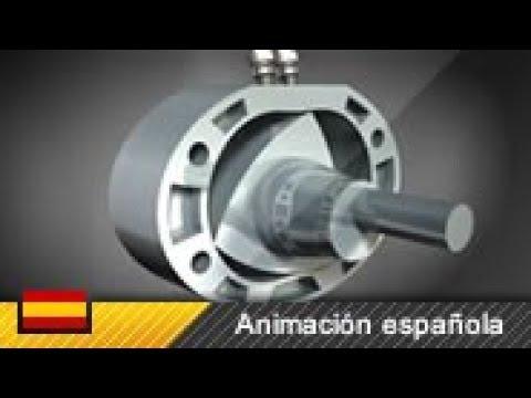 ¿Cómo funciona un motor rotativo Wankel? (Animación)