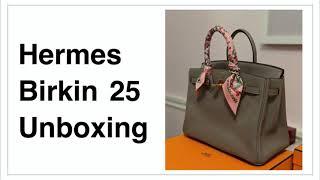 Hermes Birkin Bag Unboxing (Bi…