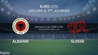 Albania VS Switzerland / 0-1 / UEFA EURO 2016