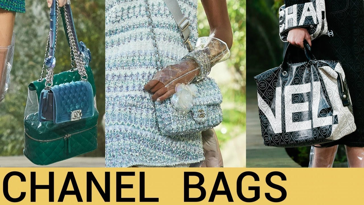 3f37a63cd4a1 Chanel Bags Collection 2018 - YouTube