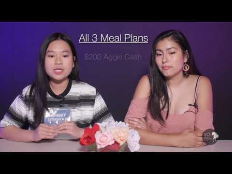 Aggie NOW S5 E2: New Dining Plan!