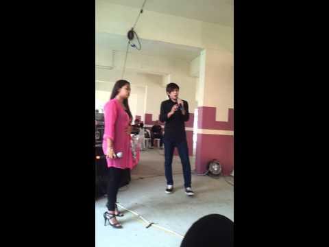 Appy and mira karaoke - Fantasia bulan madu