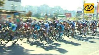 В Минске проходят международные шоссейные велогонки «Гран-при Минска» и «Кубок Минска»
