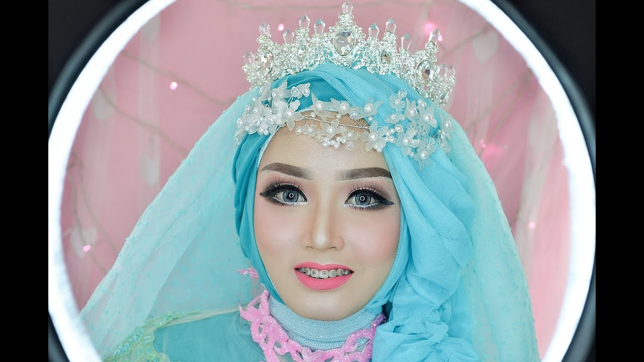 tutorial makeup wedding ala barbie wedding kekinian. Black Bedroom Furniture Sets. Home Design Ideas