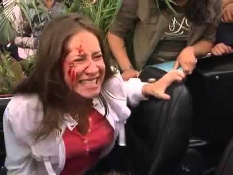 Alma De Hierro - Luis/Wicho y Carina sufren un accidente Parte 2
