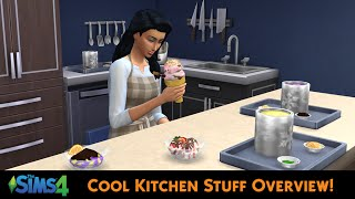 The Sims 4 Cool Kitchen Stuff (Overview)