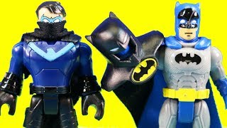 Imaginext Ninja Nightwing And Glider Help Justice League And Batman