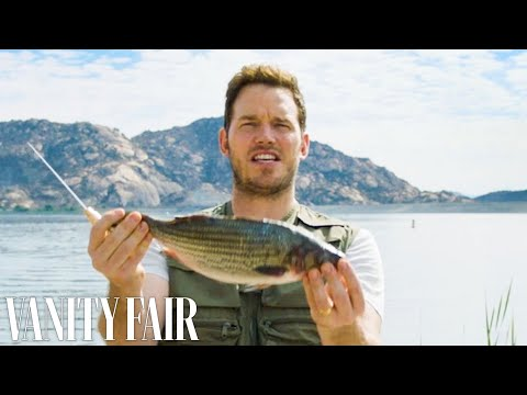 Chris Pratt Cleans and Guts A Fish | Vanity Fair