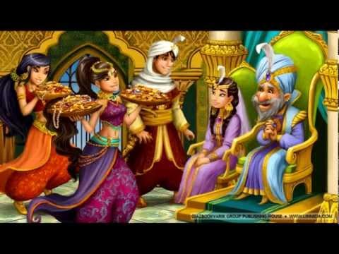 СЛУШАТЬ Детские сказки - Волшебная лампа Аладдина