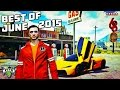 HIKETHEGAMER: BEST MOMENTS OF JUNE 2015 | GTA 5 Epic Stunts & Fails Montage!! (GTA 5 Funny Moments)