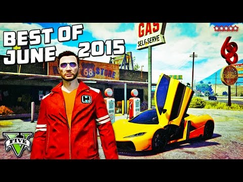 HIKETHEGAMER: BEST MOMENTS OF JUNE 2015   GTA 5 Epic Stunts & Fails Montage!! (GTA 5 Funny Moments)