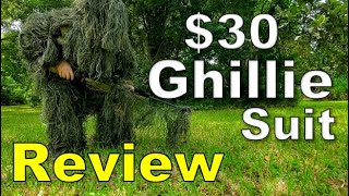 Random Reviews Ep. 91: $30 Camo Ghillie Suit from Ebay