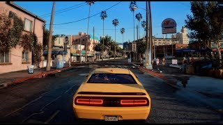 ◉ GTA 6 *NEW 2019* BEST MUSCLE CARS GAMEPLAY! NEXT-GEN ULTRA GRAPHICS 60 FPS - GTA V MOD
