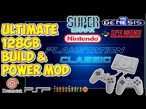 The BEST 128GB PlayStation Classic AutoBleem Build! PSX & Tons Of Retro Consoles!