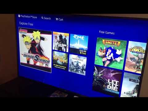 How to download top free trending games on PS4