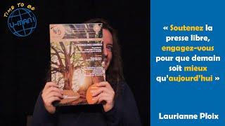 Time to Be #41 -  Laurianne Ploix de Tout Va Bien
