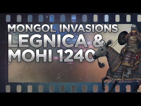 Mongols: Western Expansion - Battles of Legnica and Mohi 1241 DOCUMENTARY