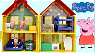 Peppa Pig's House Play Set Case | Toys Unlimited
