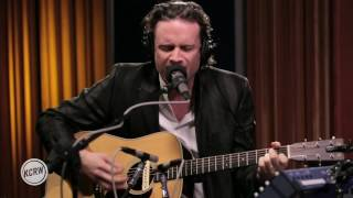 "Father John Misty performing ""Ballad Of The Dying Man"" Live on Morning Becomes Eclectic"