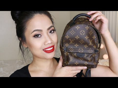 Louis Vuitton Palm Springs Mini Unboxing | Preloved | Chitchat