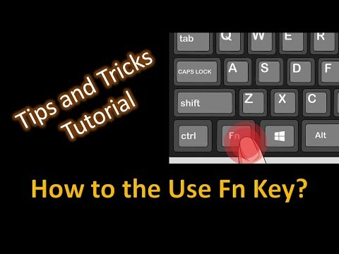 How To Enable / Disable Fn Key To Use With Action / Function Keys?