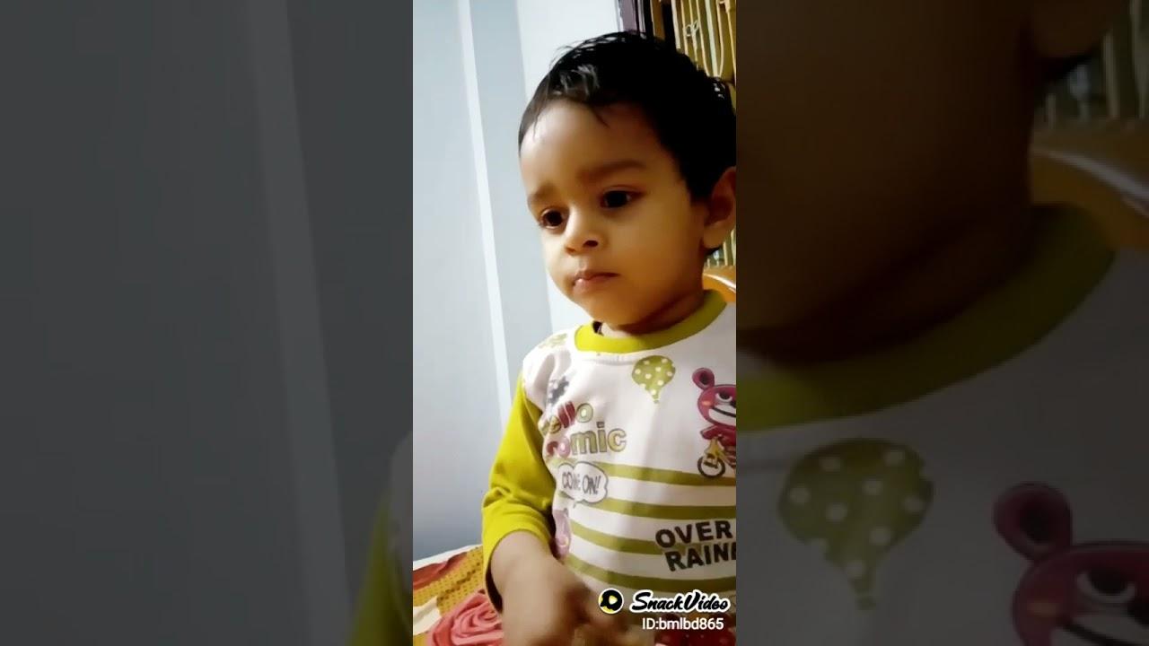 Cute baby♥️ #kids #play #cute #tiktok #kidplay #baby #cutest #hindi #shafa #shezan #cutebaby #lovely