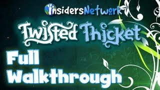 ★ Poptropica: Twisted Thicket FULL Walkthrough ★