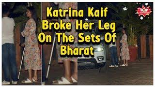 Bharat के सेट पर हुआ हादसा, Salman Khan की हिरोइन Katrina Kaif हुई घायल