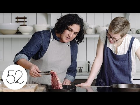 How to Pan Sear Steak with Samin Nosrat | Food52