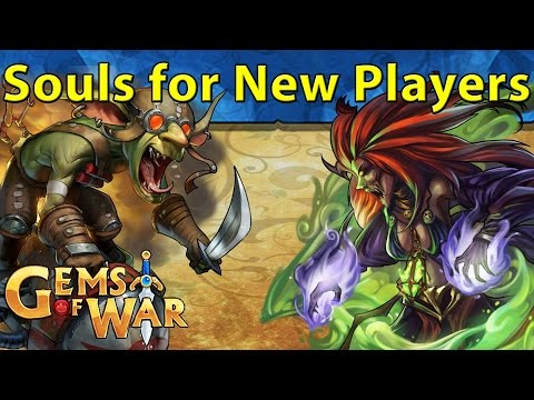 Gems of War: Soul Farm PvP Teams for Newer Players