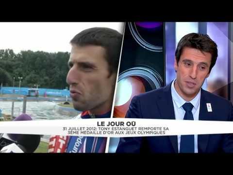 31 juillet 2012 TONY ESTANGUET TRIPLE CHAMPION OLYMPIQUE PARIS 2024