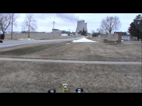 2/7/2012 -- Radiation Test DIRECTLY at Byron Illinois Nuclear Power Plant