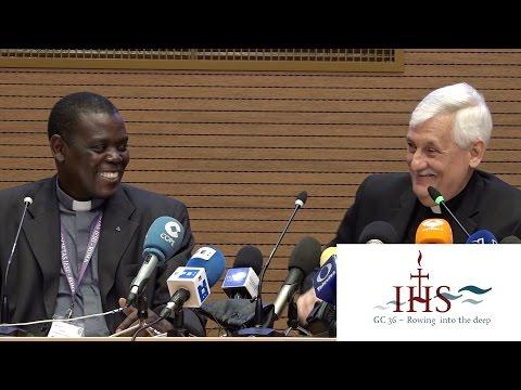 Jesuit Superior General Press Conference - Jesuit General Congregation 36