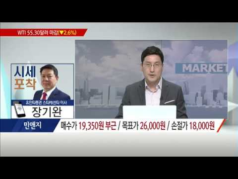 [시세포착] 성장하는 '핀테크'의 최강자 민앤지! / (증시, 증권)