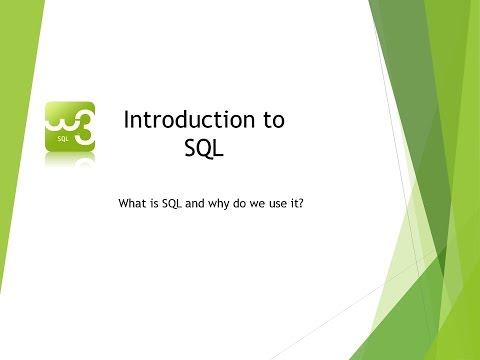 1/6: Introduction to SQL