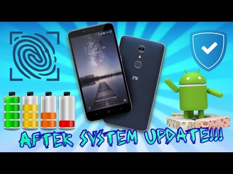 ZTE Zmax Pro Battery Life, Fingerprint Sensor, & Performance After Software Update Review