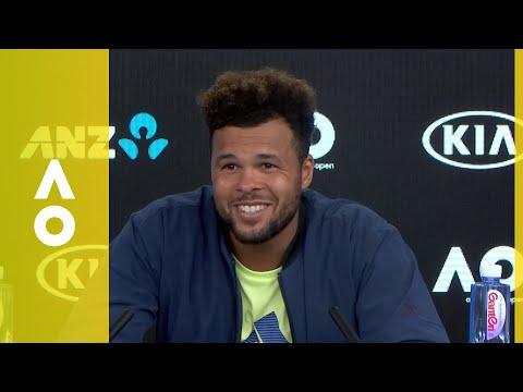 Jo-Wilfried Tsonga press conference (3R) | Australian Open 2018