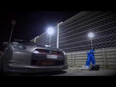1000+hp GTR in Bahrain Dragfight event 21oct 2016