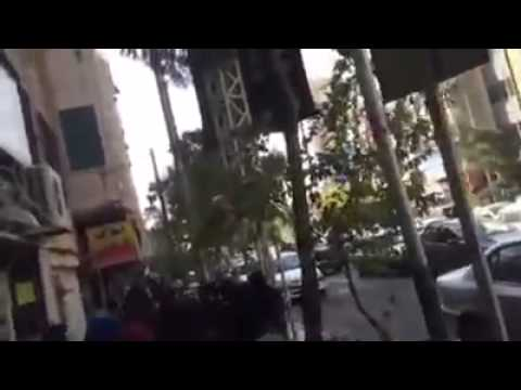 Tehran, Iran Unrest : Security forces use tear gases to despair women crowd against acid attacks
