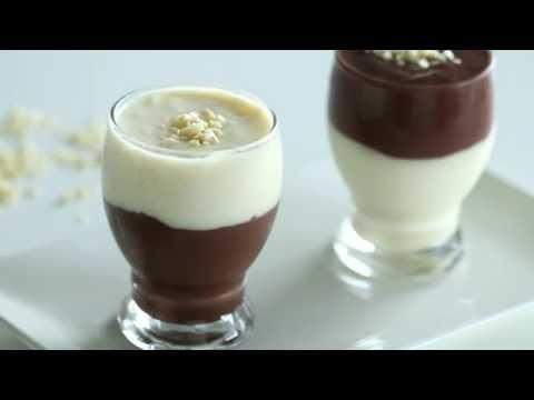 Vanilla and Chocolate Pudding Recipe