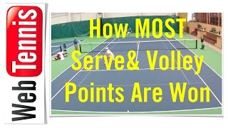 Tennis Serve & Volley - Its This Simple